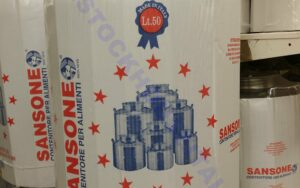 Tallo inoxidable Sansone 50 litros